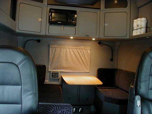 truck und technik scania longline inneneinrichtung. Black Bedroom Furniture Sets. Home Design Ideas